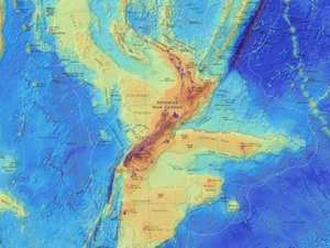 Lost continent beneath New Zealand