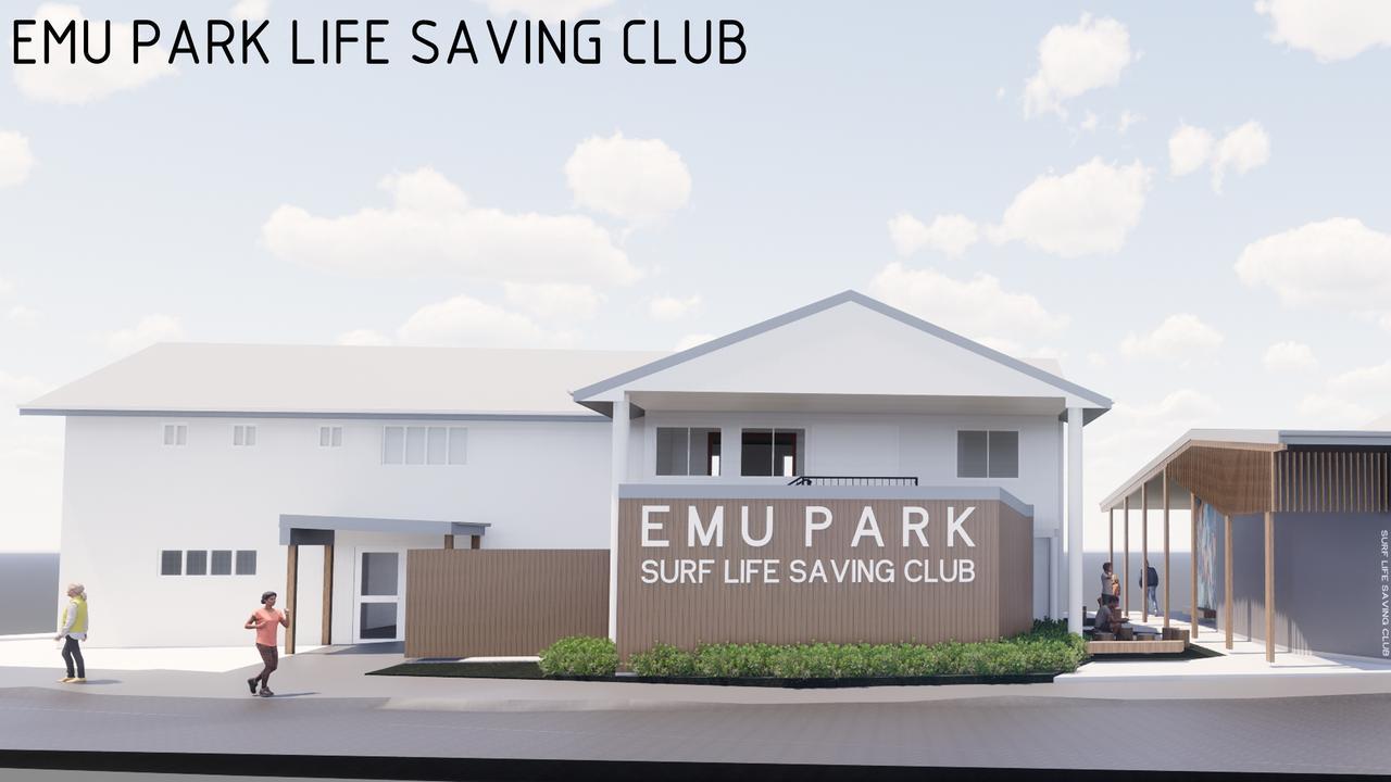Concept plan for Emu Park Surf Lifesaving Club revitalisation
