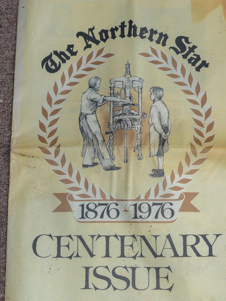 MEMORIES: The Northern Star's 100 year anniversary edition printed on broadsheet.