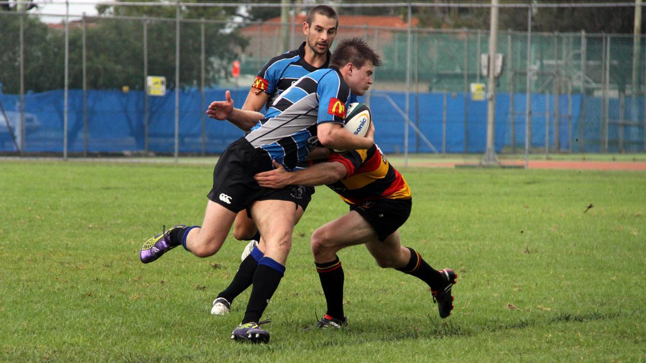 Casino centre Tom Bishop playing in the Far North Coast representative team during his time at the Bulls in 2011. Photo Angela Beattie