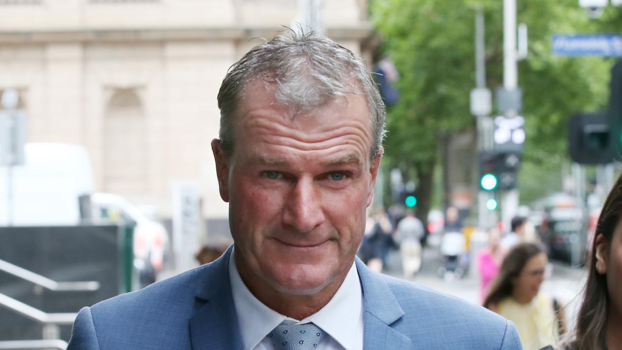 Former trainer Darren Weir. Picture: AAP/David Crosling
