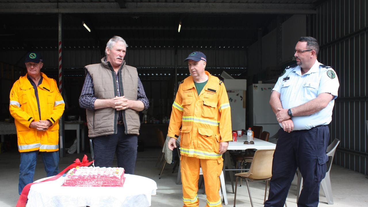 Grey Day from McEuen Rural Fire Brigade, SBRC Councillor Scott