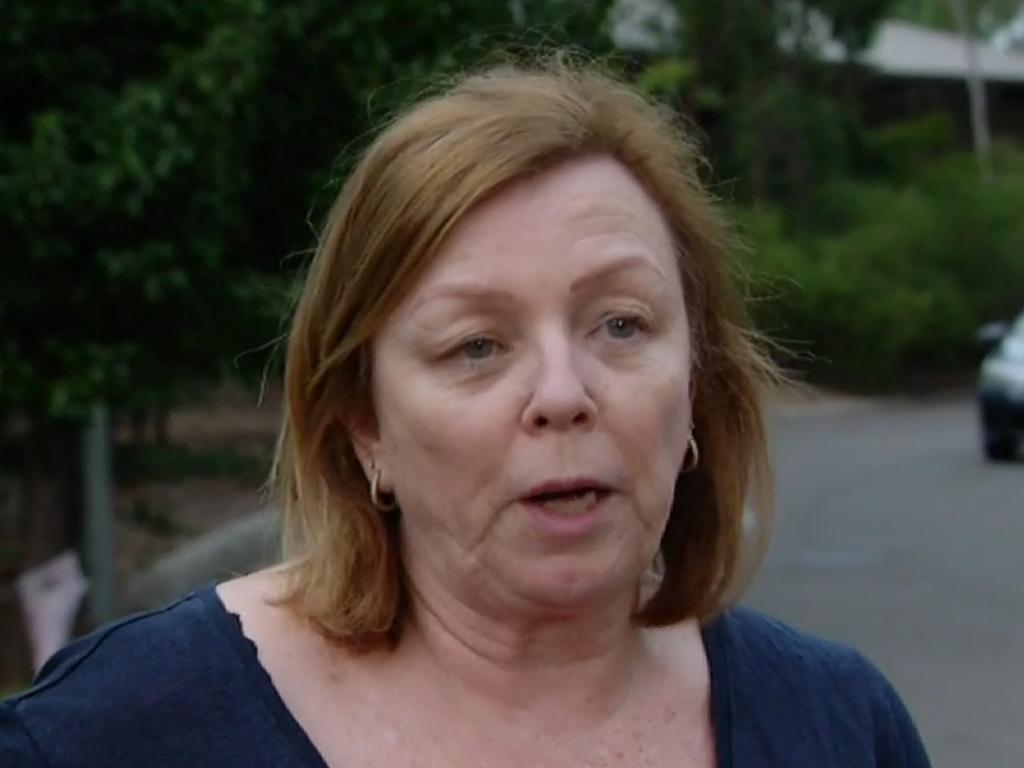 Mary Watson lost her mum to the outbreak at Newmarch House. Picture: Four Corners/ ABC