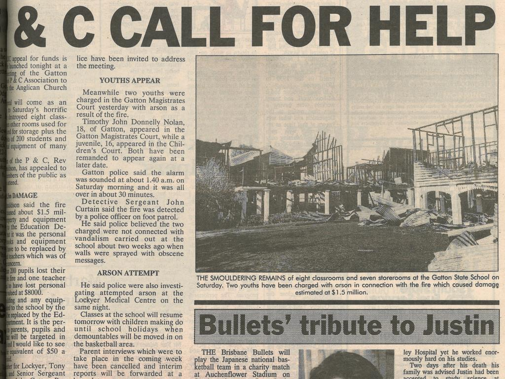 Gatton Star front page of May 28, 1991