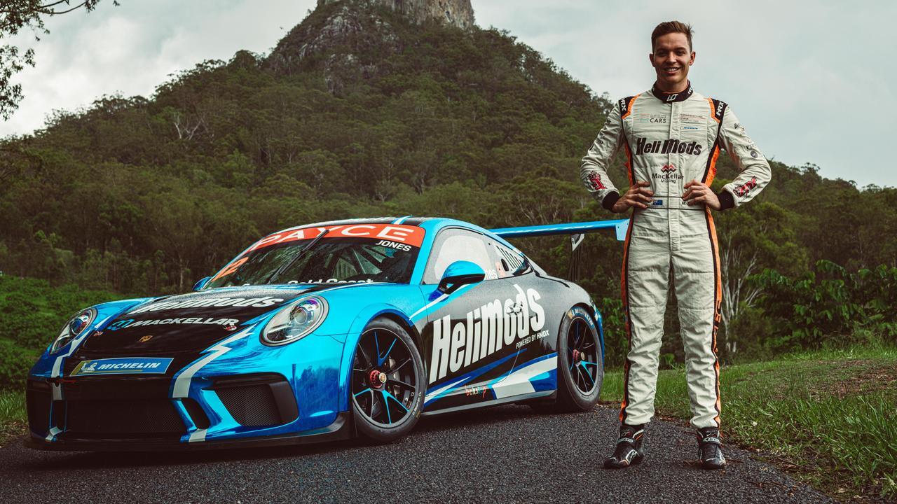 Harri Jones is getting ready to get back racing in the Porsche PAYCE Carrera Cup in his striking, HeliMods Porsche GT3.