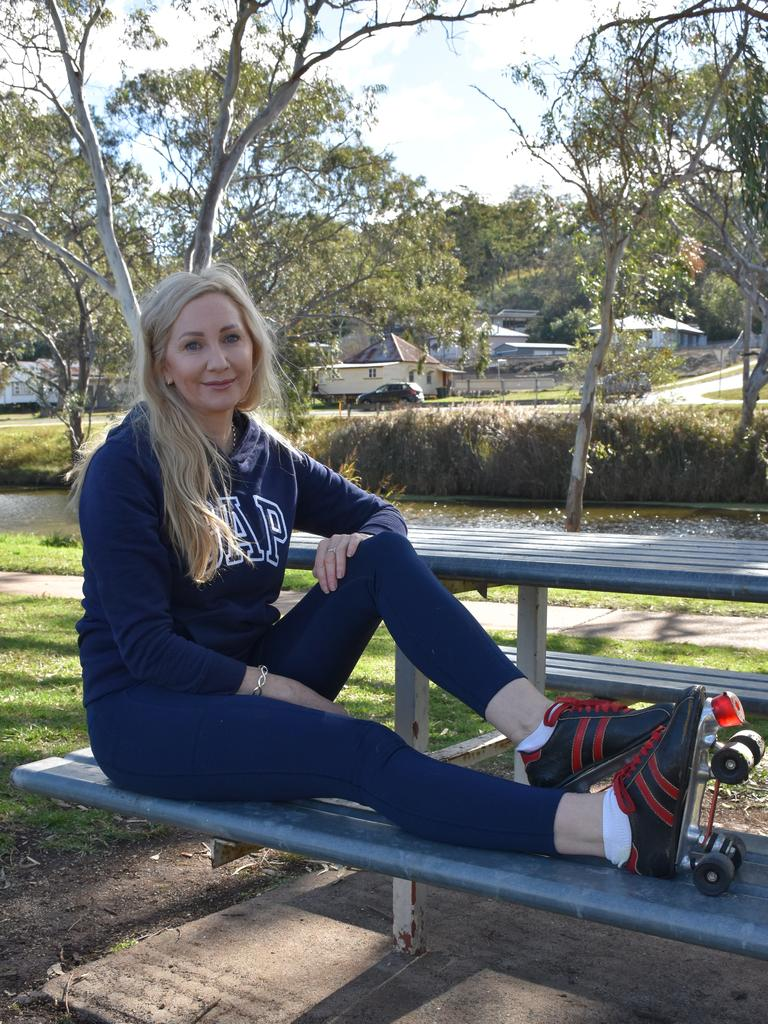 Remembering her childhood, Ms McDonnell-Partington is hopeful more people will get into roller skating.