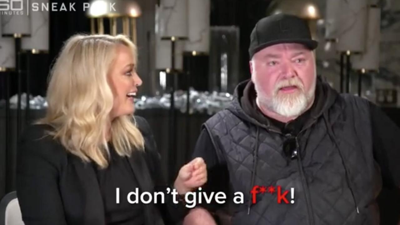 The show's 'exclusive' interview with Kyle Sandilands was universally panned. Picture: 60 Minutes/Channel 9