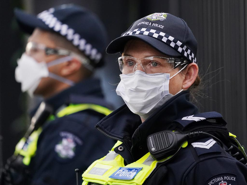 The lack of a protests spike seems to indicate outdoor mass gatherings, like the protests, are safer than previously thought. Picture: AAP Image/Michael Dodge