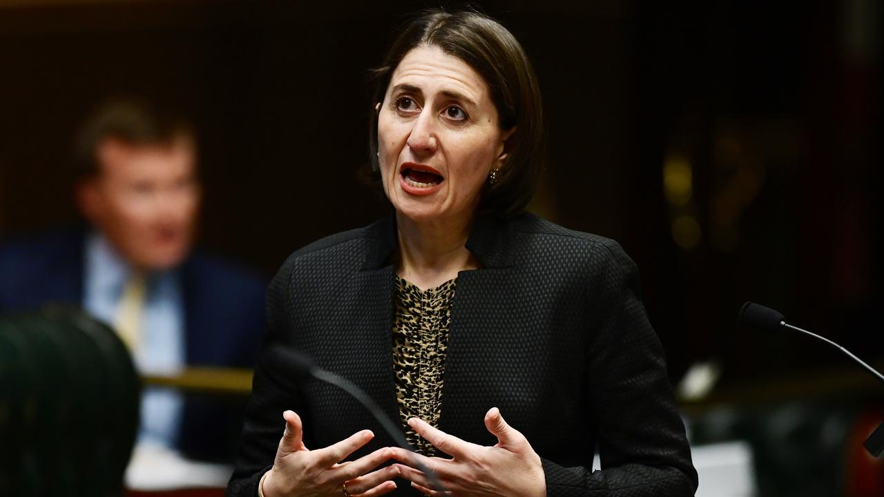 NSW Premier Gladys Berejiklian may be forced to restrict border access between NSW and Victoria given the recent spike in COVID-19 cases. Picture: AAP Image/Joel Carrett.