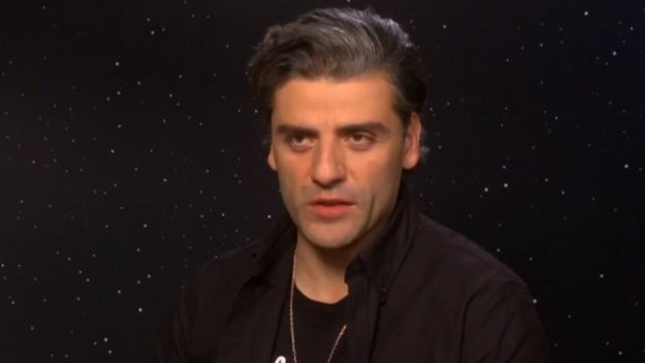 Oscar Isaac talks Star Wars.