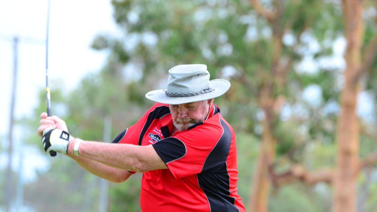 BIG SWING: Errol Dionysius claimed his first C Grade club championships on Sunday at the Kingaroy Golf Club. (Photo: File)