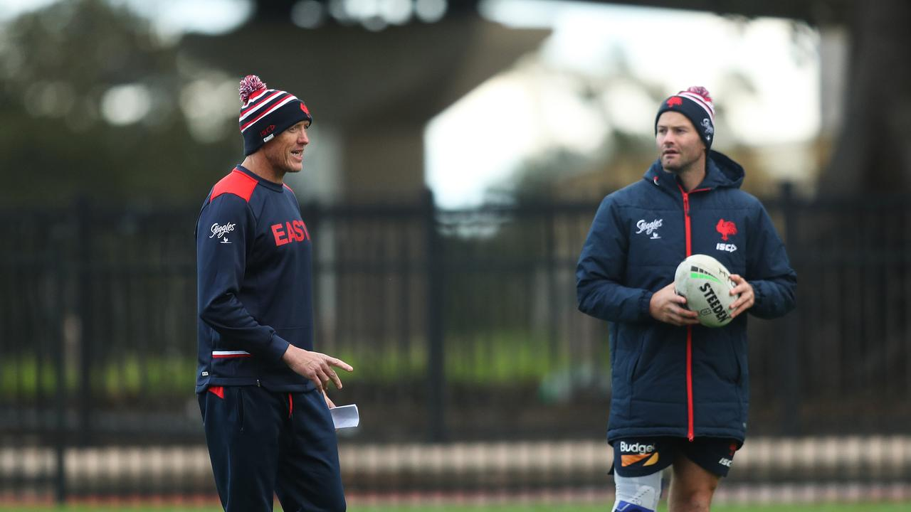Could Fitzgibbon be the next great NRL coach. Picture by Brett Costello.