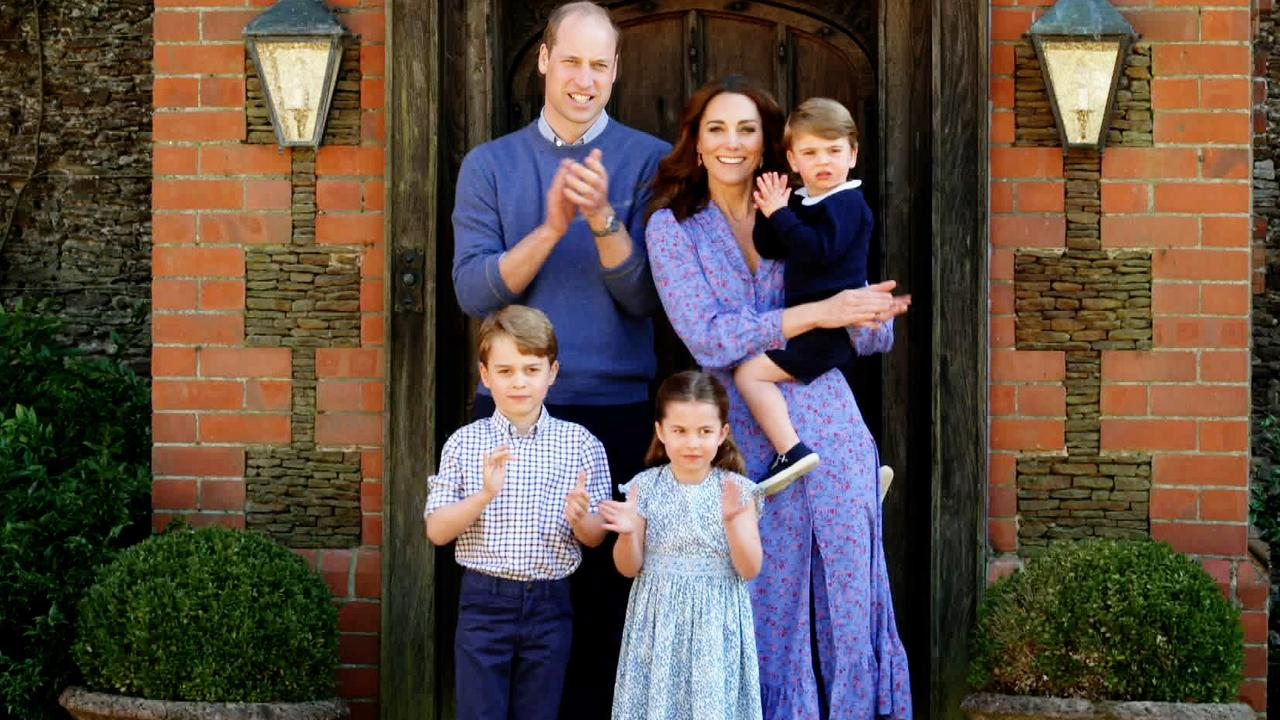 We want to see more family pictures with Kate in them. Picture: BBC TV/PA Wire