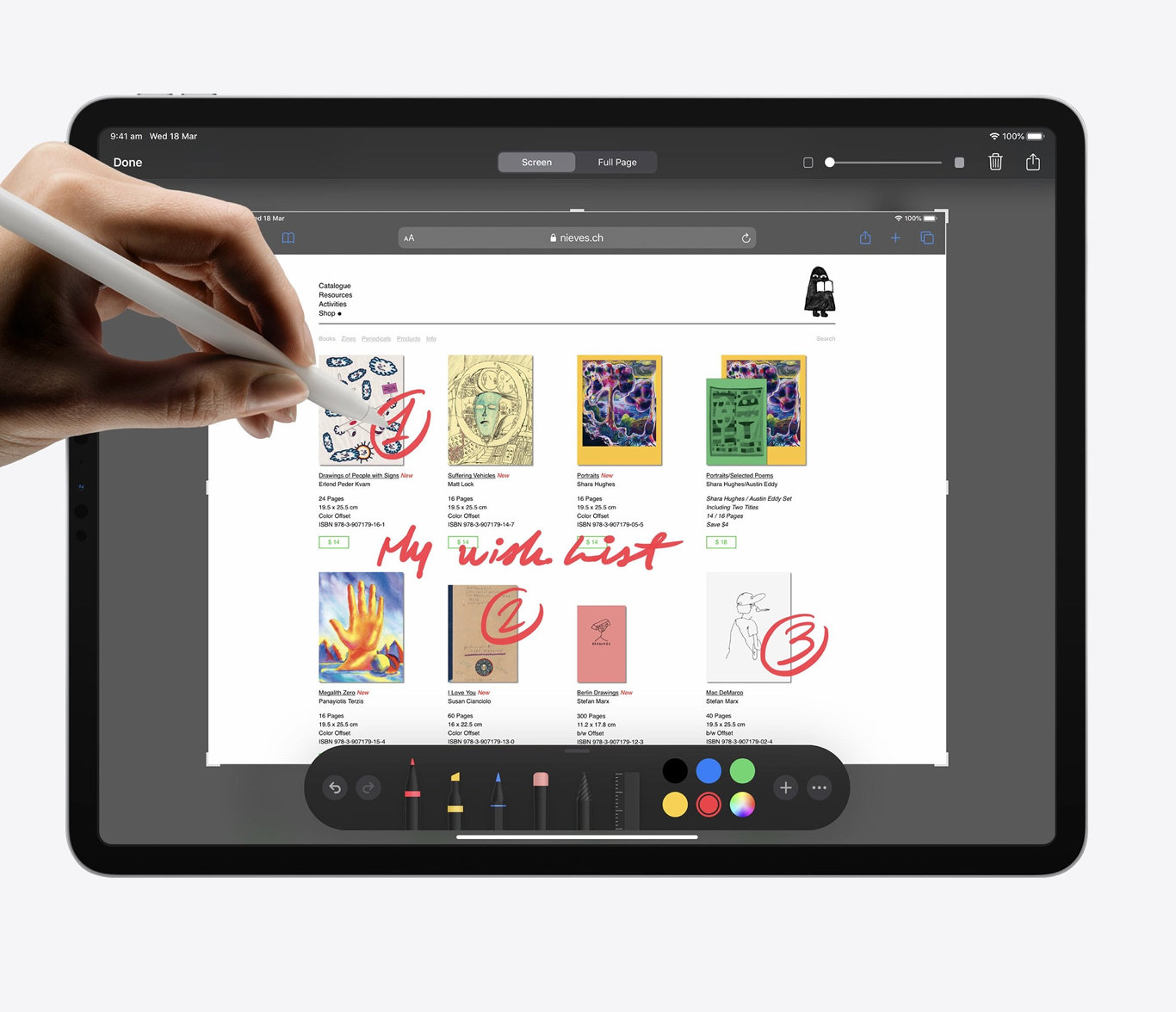 The 2020 iPad Pro.