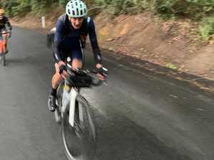 'Everesting' challenge completed at Montville by duo