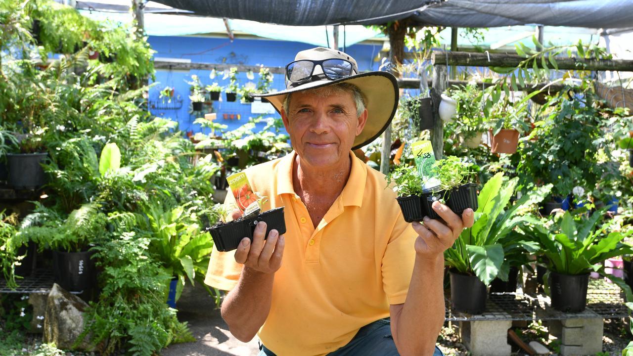 Tannum Garden Centre owner Paul Ford. Photo: Nick Gibbs