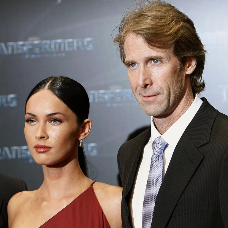 Fox and director Michael Bay in 2009.