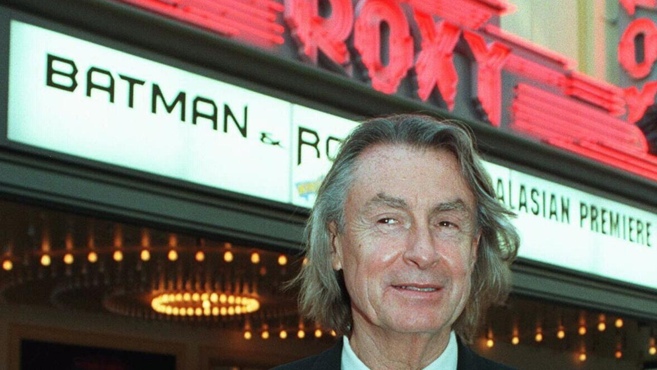 Director Joel Schumacher, seen here attending the Australian premiere of Batman & Robin, has died aged 80. Picture: Supplied