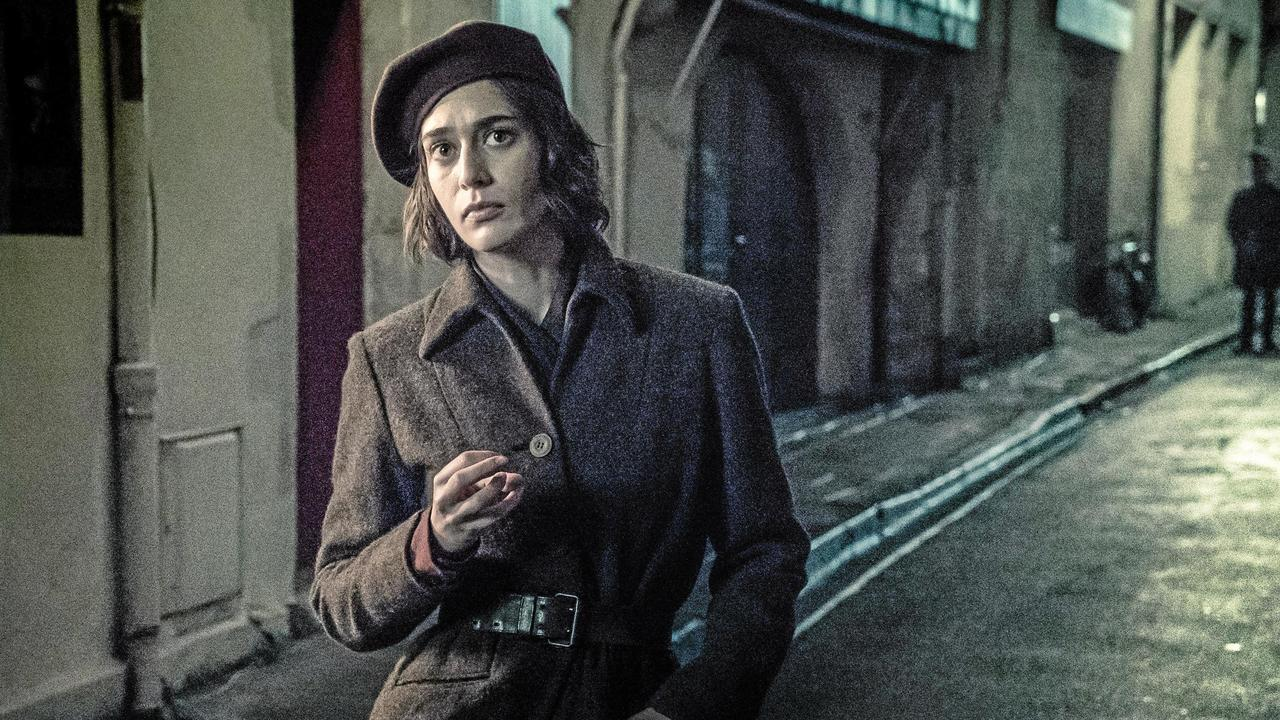 Lizzy Caplan in a scene from the TV series Das Boot. Picture: NIK KONIETZNY