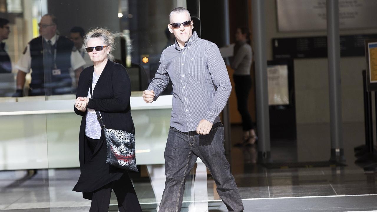 Jason Allwood leaves the Brisbane Supreme Court. (News Corp/Attila Csaszar)