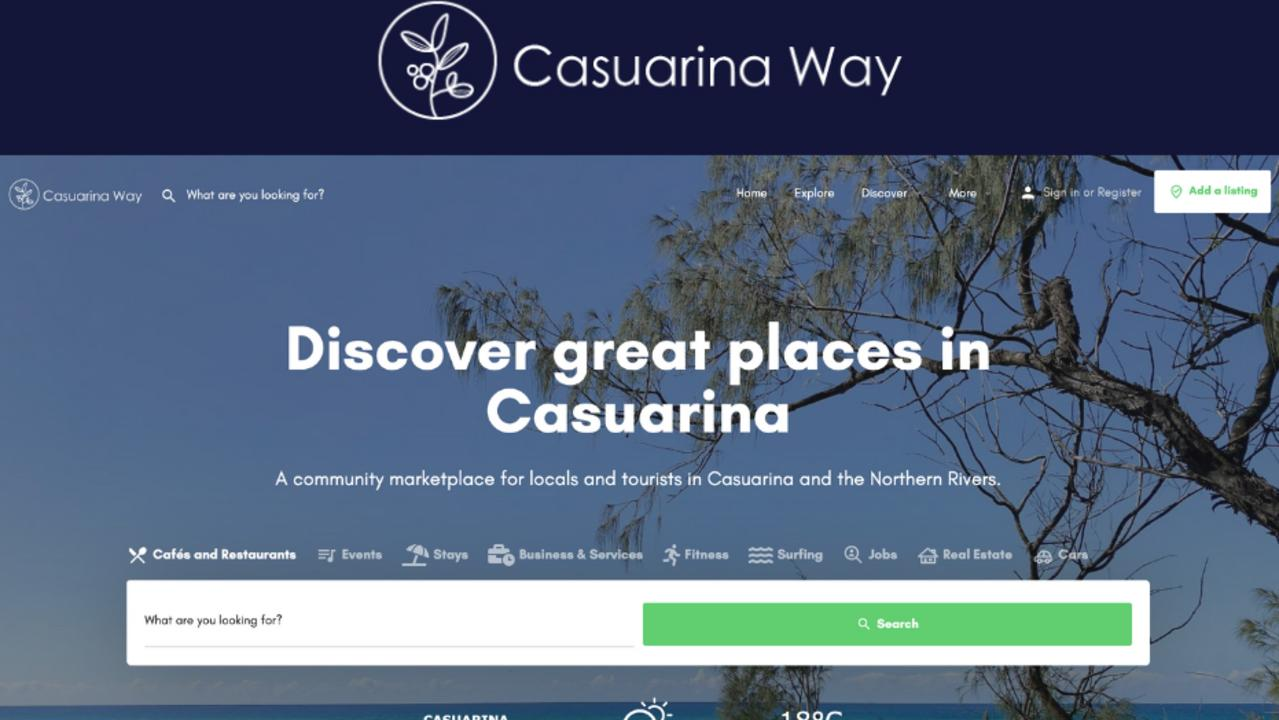Casuarina Way is an online community marketplace for locals and tourists in the Northern Rivers community.