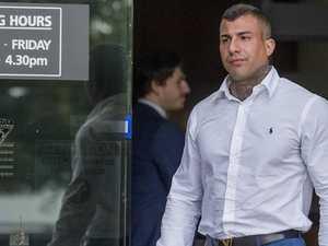 Raid reveals alleged bikie's lifestyle closet