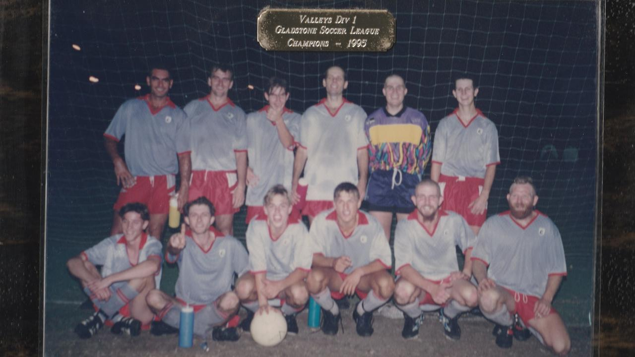HAND BALL: Biloela Valleys Division 1 1995 grand final winners.