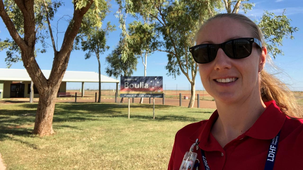 LIVING THE HIGH LIFE: Bundaberg Flight Nurse Kathryn McKenzie completes Mount Isa rotation.