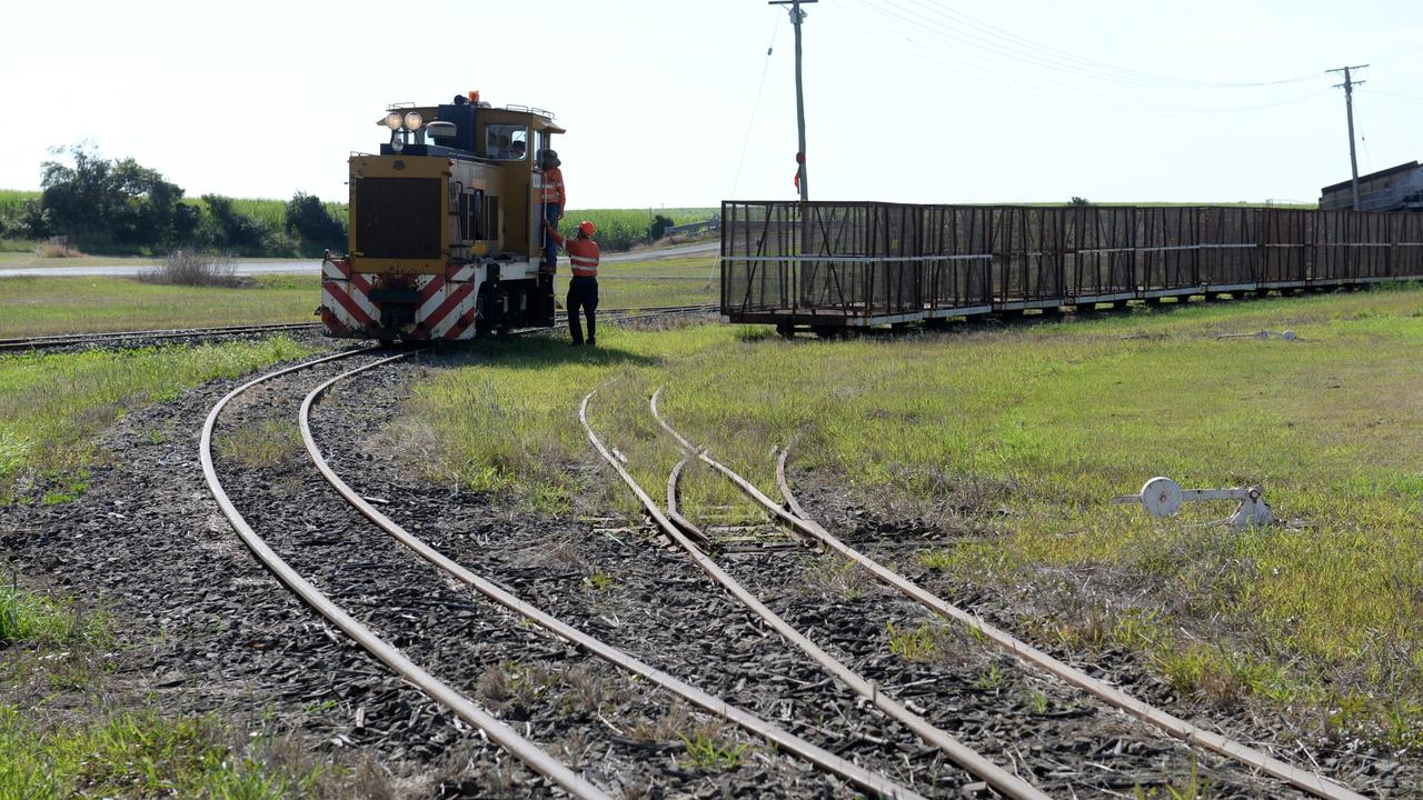 SAFETY AT CROSSINGS: Bundaberg Sugar's cane supply manager Rob Powell is urging motorists to keep an eye open for cane trains this season. Photo: Mike Knott / NewsMail