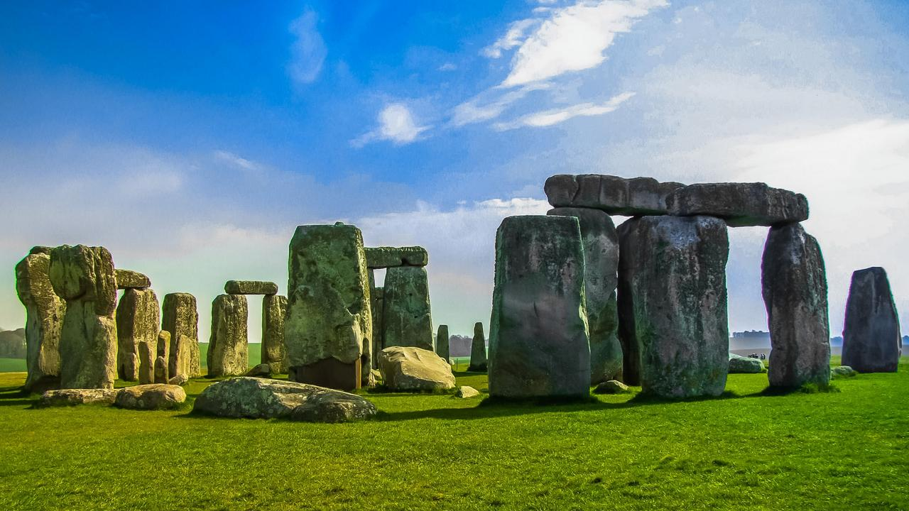 Archaeologists were gobsmacked to find a large circle underground around Stonehenge. Picture: Escape