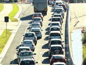 Crash affects rush hour traffic into Rockhampton