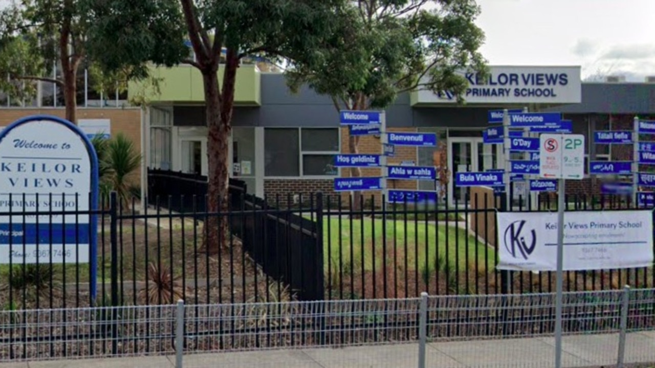 Keilor Views Primary School is closed after a student tested positive for coronavirus. Picture: Google Maps