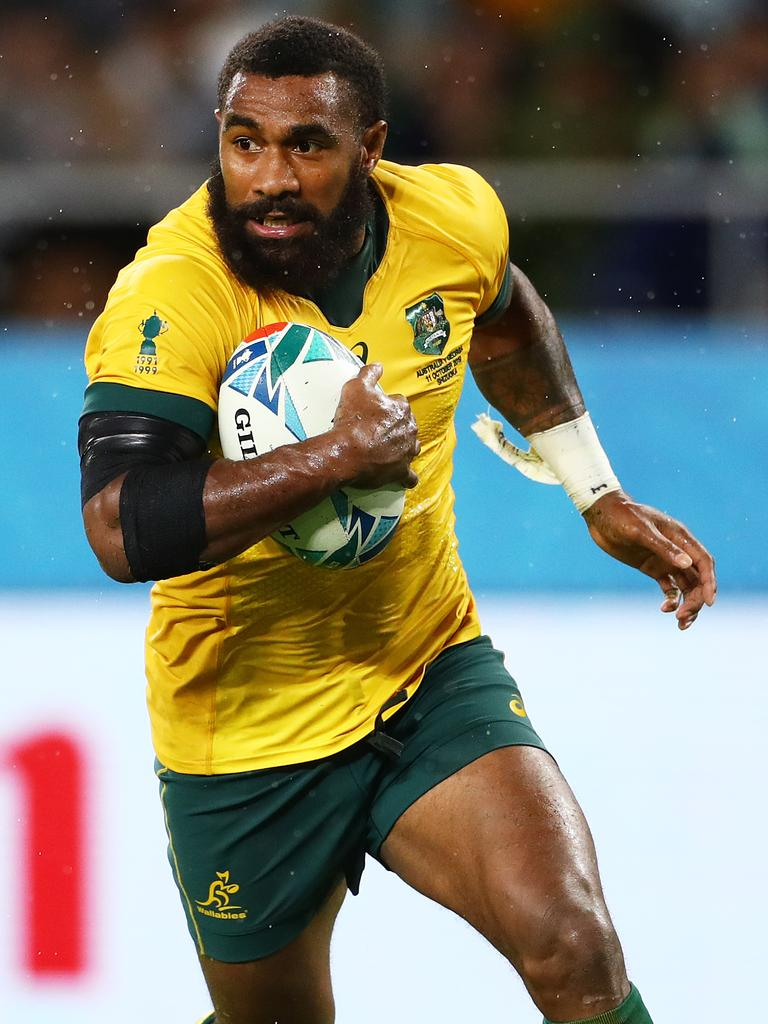 Marika Koroibete played for the Storm and Tigers. Picture: Stu Forster/Getty
