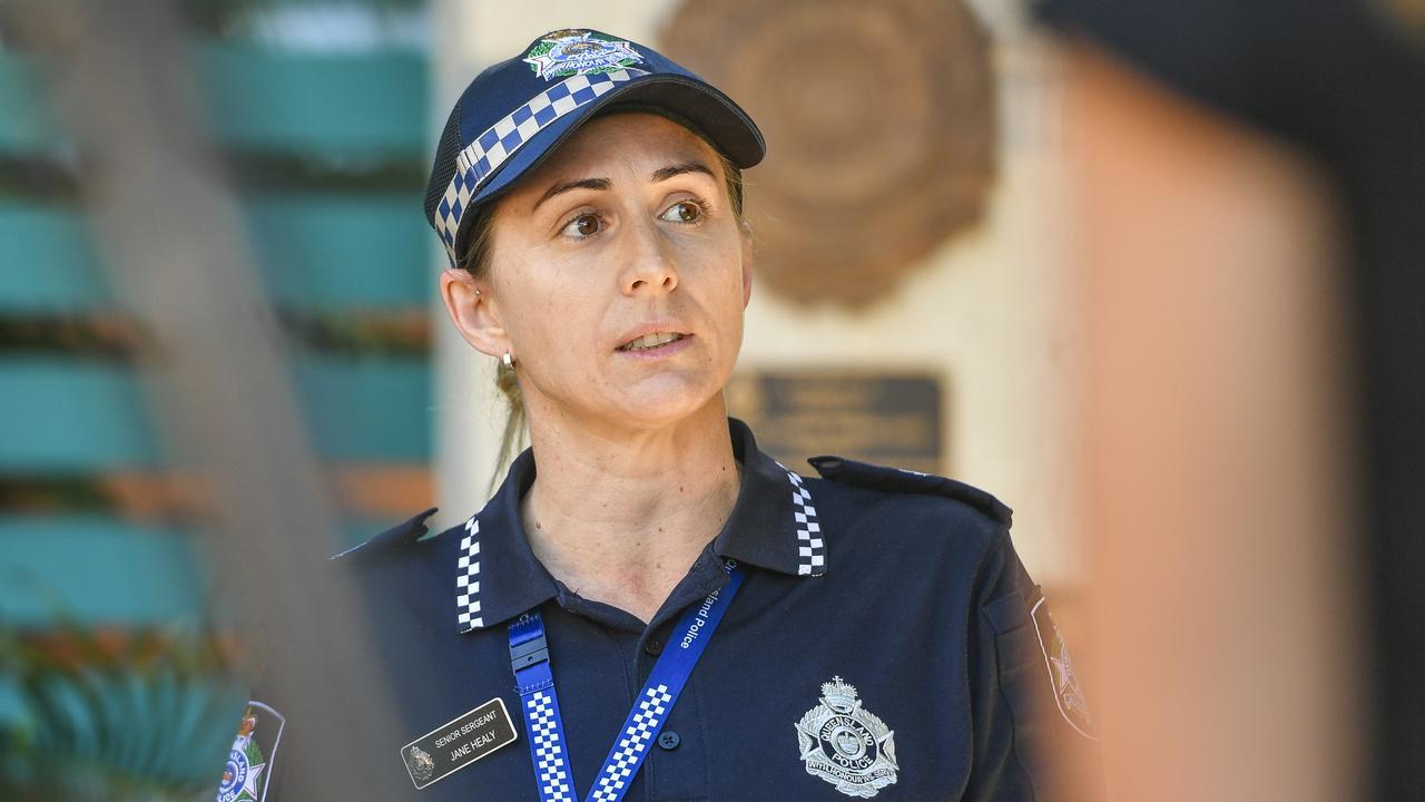 Gladstone Police Senior Sergeant Jane Healy.
