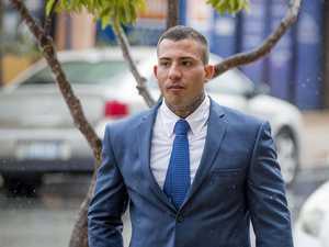 WATCH: Moment alleged bikie Barbaro raided
