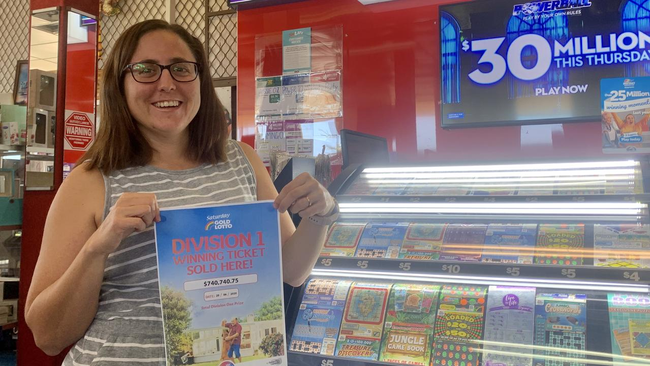 Hickmott's Supa News manager Angela Stevens said the winning ticket was the second large lotto win they've had in recent months, and hoped the law of three's meant another could be in store.