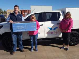 TODD'S ANGELS: Massive $20k given towards drought relief