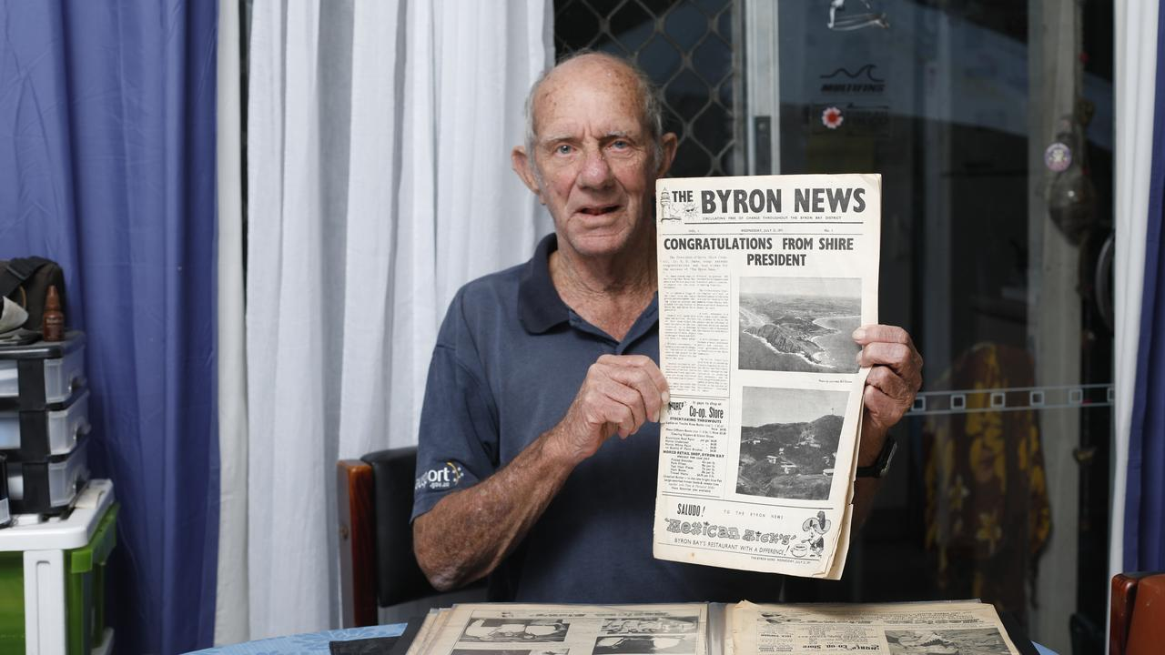 Byron Bay man Keith Anderson has reflected on the Byron Shire News and its almost 49 years of history.