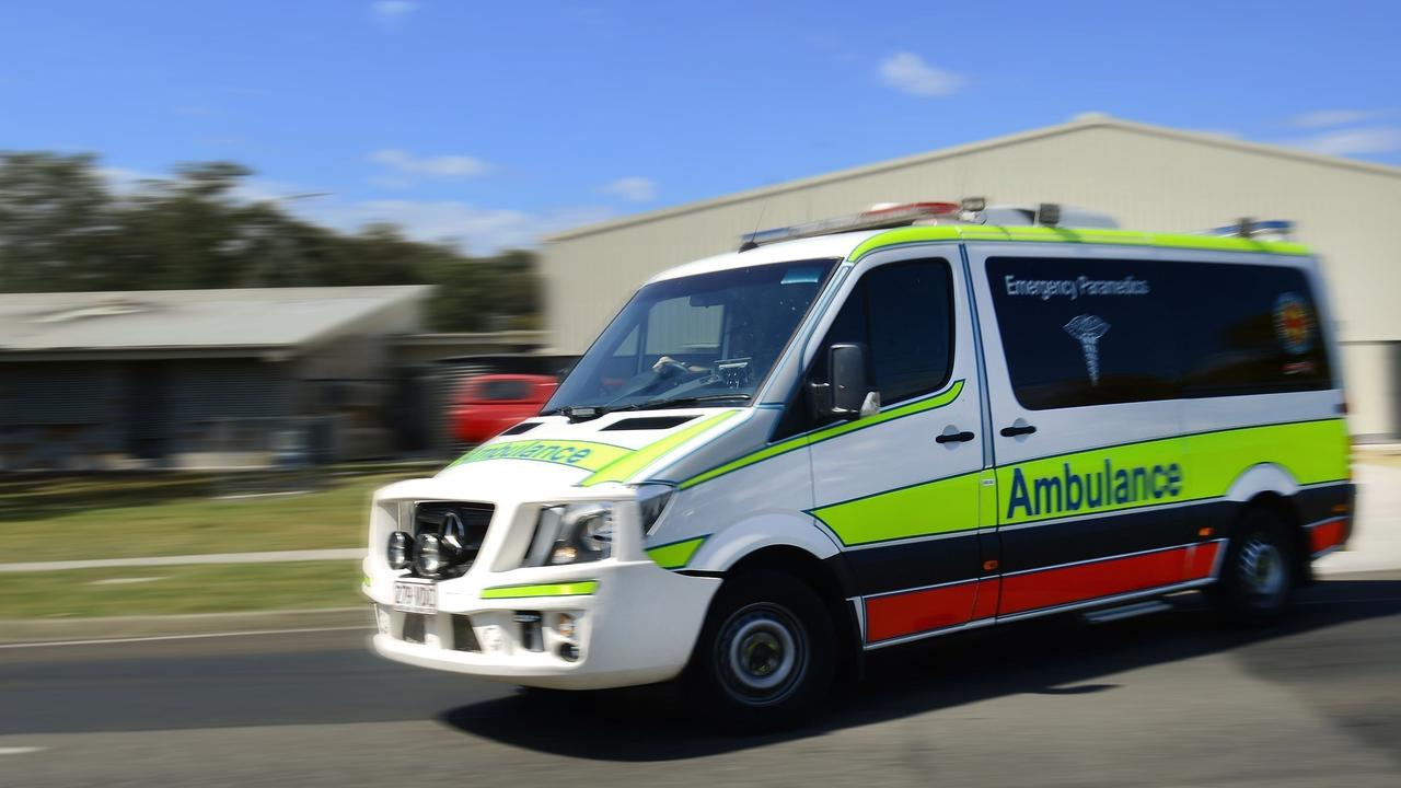 Paramedics transported a patient to Kingaroy Hospital this morning. (Photo: FILE)