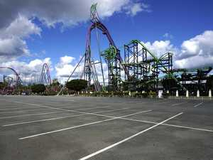 'Cruel hoax' pulled on troubled theme parks