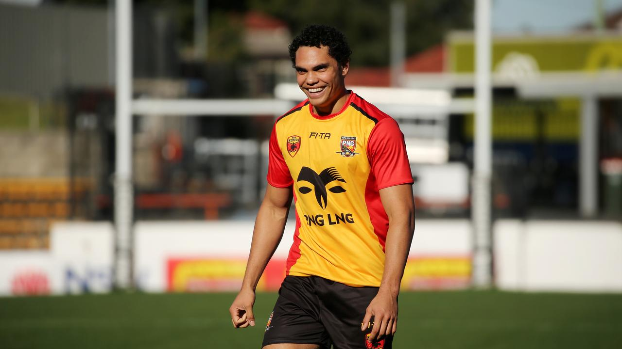 Coates made his Test debut for Papua New Guinea last year. Picture by Tim Hunter.