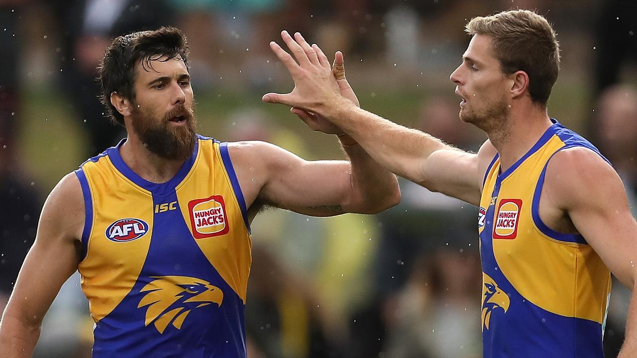 The West Coast Eagles are already keyed up about their coming derby.