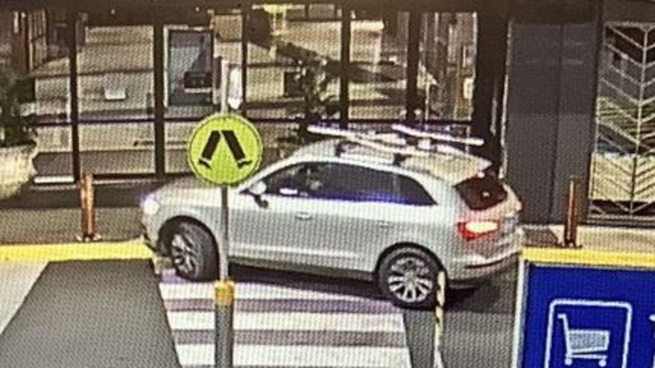 Police released a CCTV image of the car. Photo: QLD Police