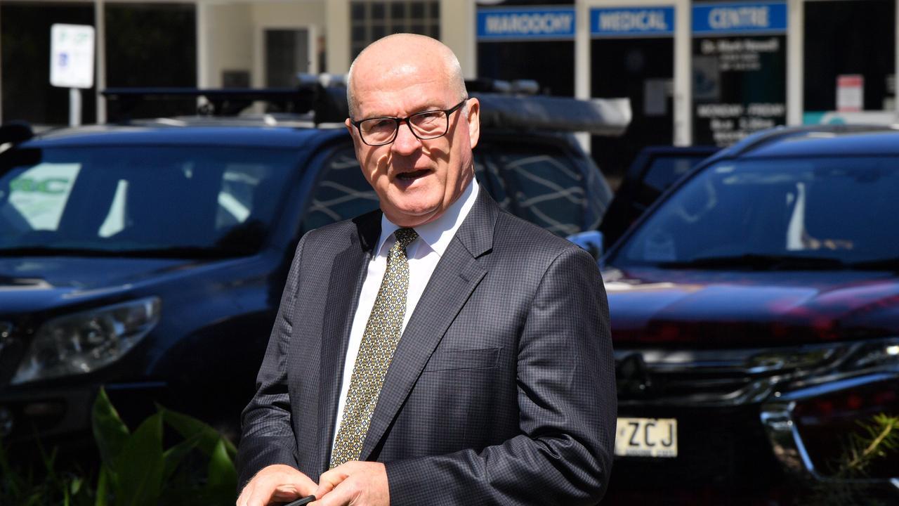 Sunshine Coast Mayor Mark Jamieson will address the media on Thursday after the budget adoption at the live streamed ordinary meeting. Photo: John McCutcheon / Sunshine Coast Daily