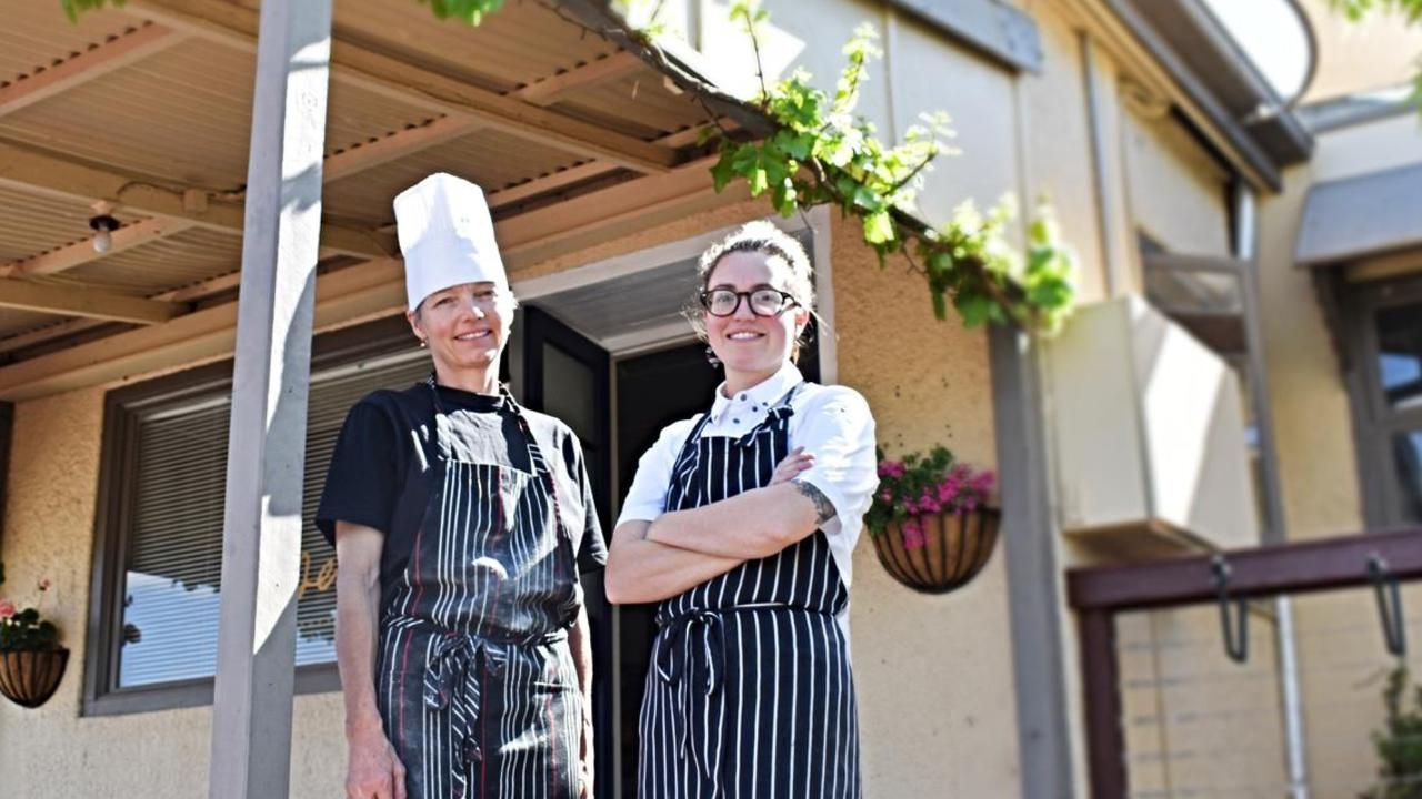 Clarissa Sibley and her mum Claudia are running the new restaurant in Stanthorpe, Essen.