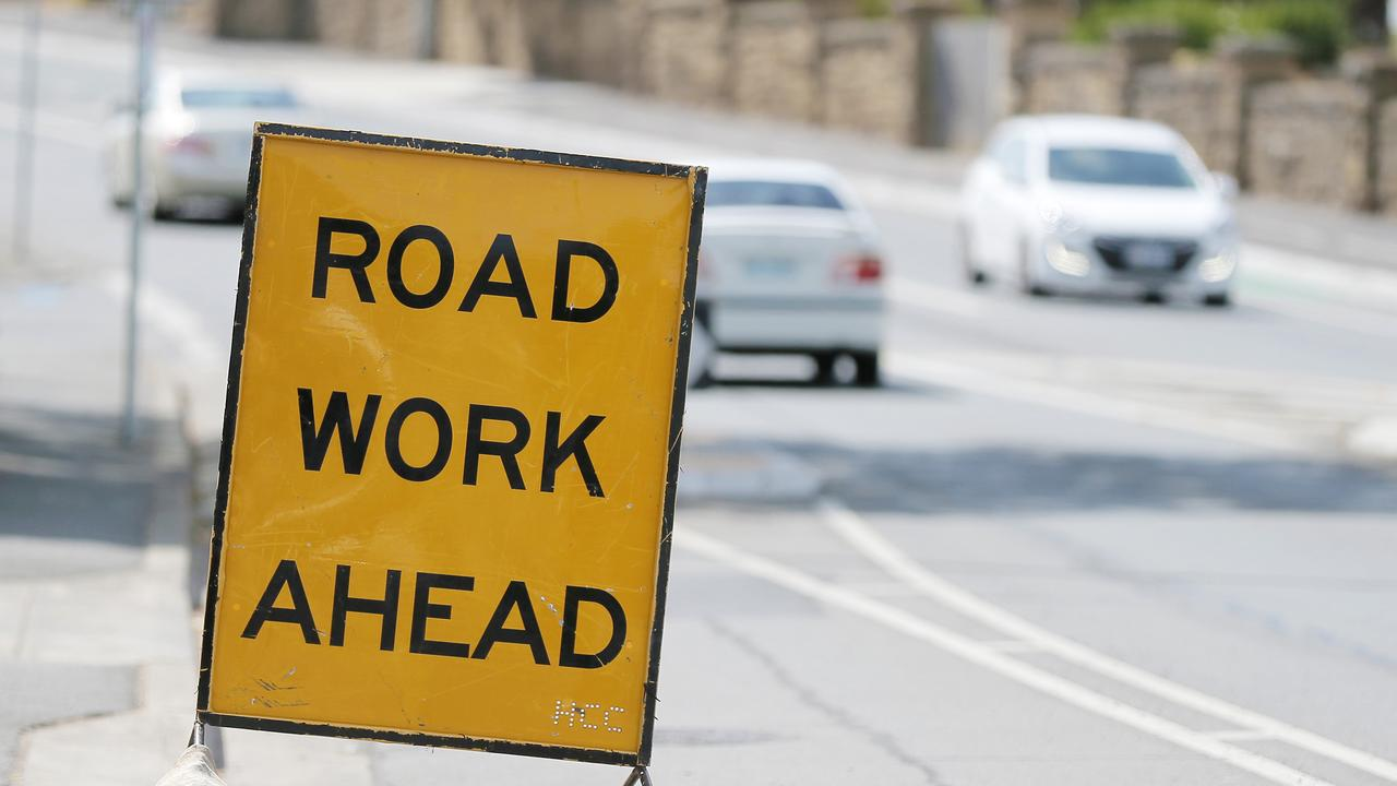 The roadworks are due to be completed by October.