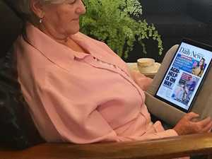 NO FUSS: Digital news 'straightforward' for septuagenarian