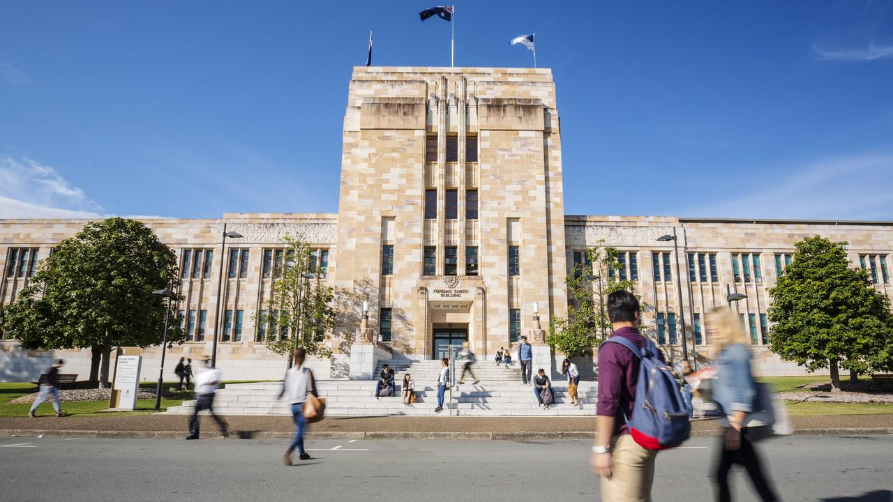University of Queensland. Picture: File