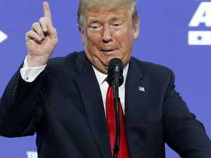 Trump holds political rally in virus hotspot
