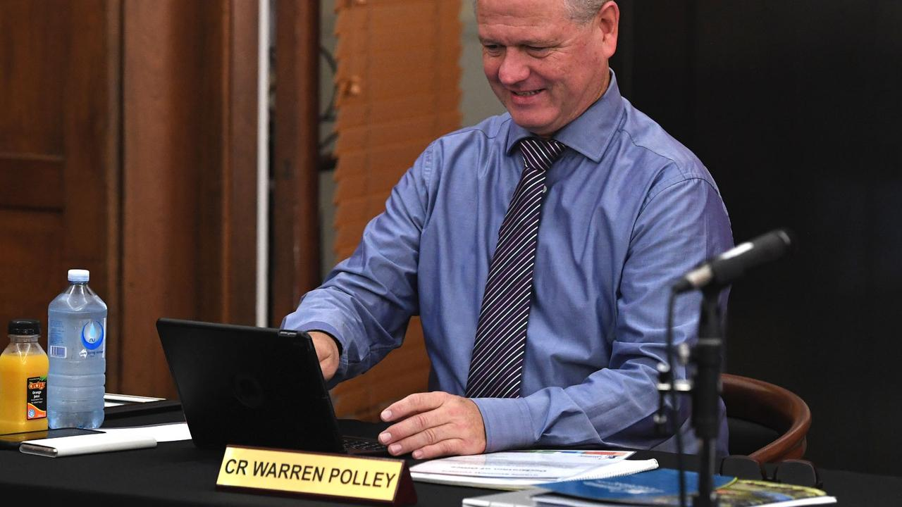 Councillor Warren Polley voted against refusing a pay rise during Wednesday's council meeting.